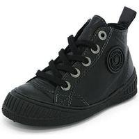 Chaussures Homme Baskets montantes Pataugas rocker noir