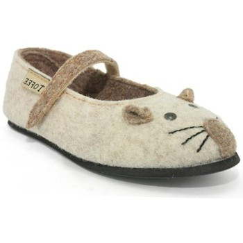 Chaussures Fille Chaussons Tofee h71tof001 beige