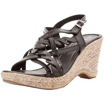 Chaussures Femme Sandales et Nu-pieds Toscania 35187 noir