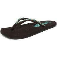 Chaussures Femme Sandales et Nu-pieds Cobian mrn07-201 marron
