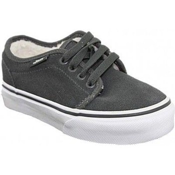 Chaussures Fille Baskets basses Vans k12vans014 gris