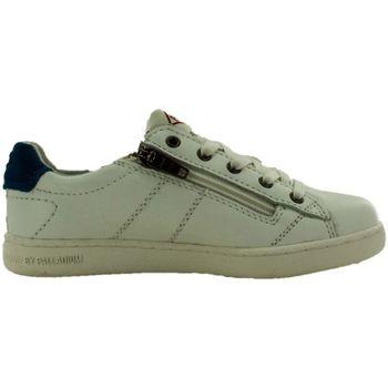 Chaussures Fille Baskets basses Palladium malo cash blanc