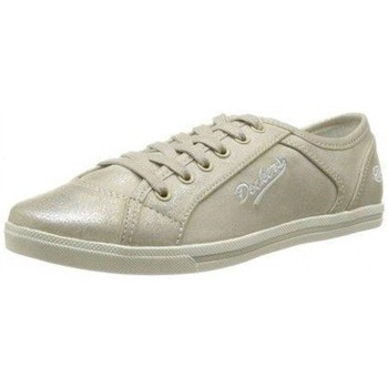 Chaussures Fille Baskets basses Dockers by Gerli 347100 Doré