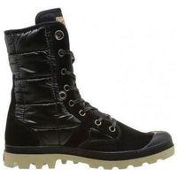 Chaussures Fille Boots Palladium k41pallad148 noir