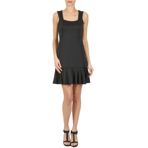 Manoukian Femme 612936 Noir Courtes Robes ARjq3L54