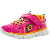 Chaussures Fille Baskets basses Skechers 80868n rose
