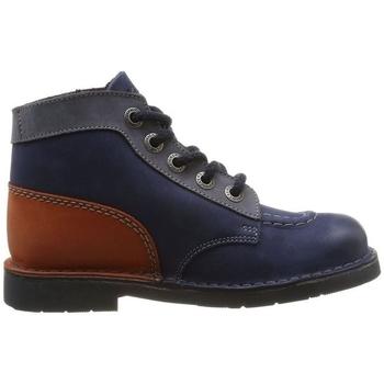 Chaussures Garçon Boots Kickers 393432 bleu