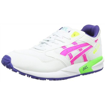Chaussures Femme Baskets basses Asics h592y blanc