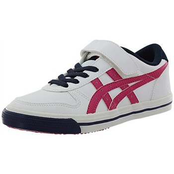 Chaussures Fille Baskets basses Asics c3c1y blanc