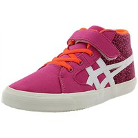 Chaussures Fille Baskets montantes Asics c4a9n rose