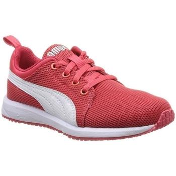 Chaussures Garçon Baskets basses Puma 187894 rouge