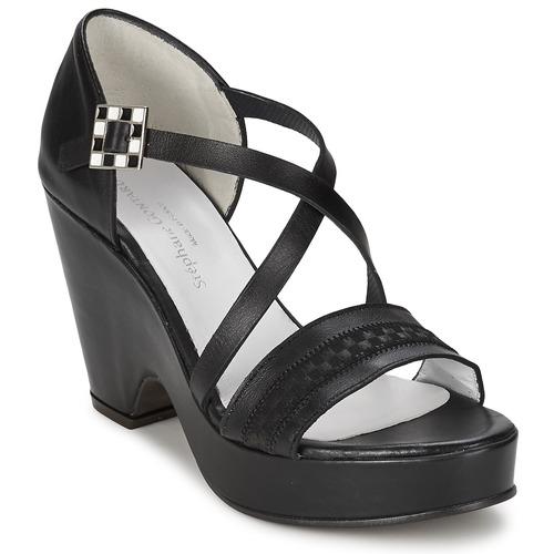 Chaussures Femme Sandales et Nu-pieds Stephane Gontard FOLIES NOIR