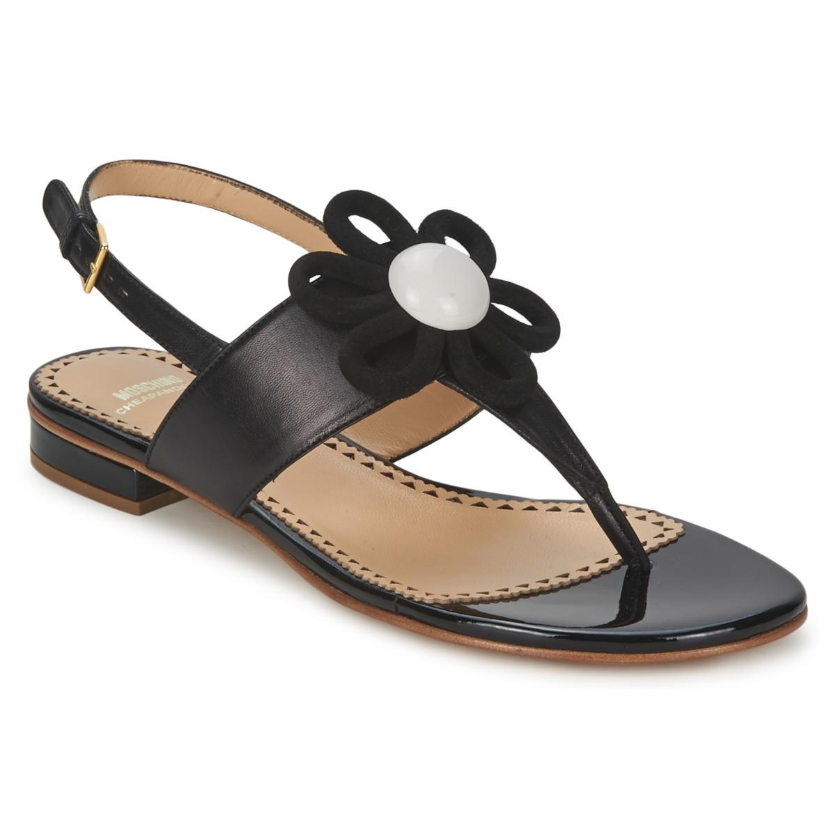 Sandale Moschino Cheap & CHIC CA16112C1ZCB Noir