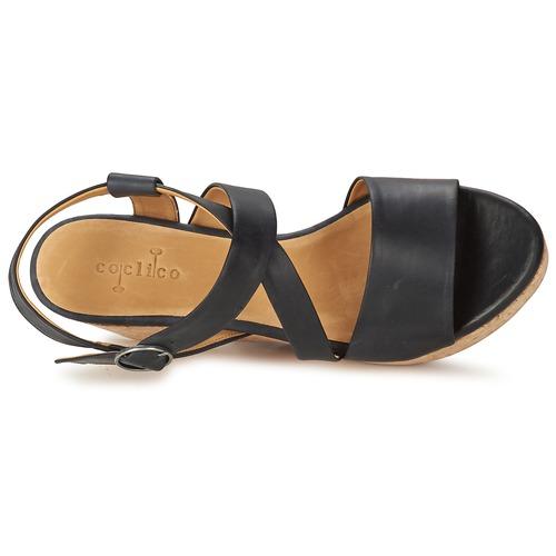 Chaussures Nu pieds Femme Et Coclico Noir Mel Sandales e2YWDIEH9