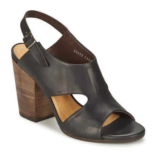 Et Coclico pieds Sandales Nu Caspar Femme Noir TK1lFJc