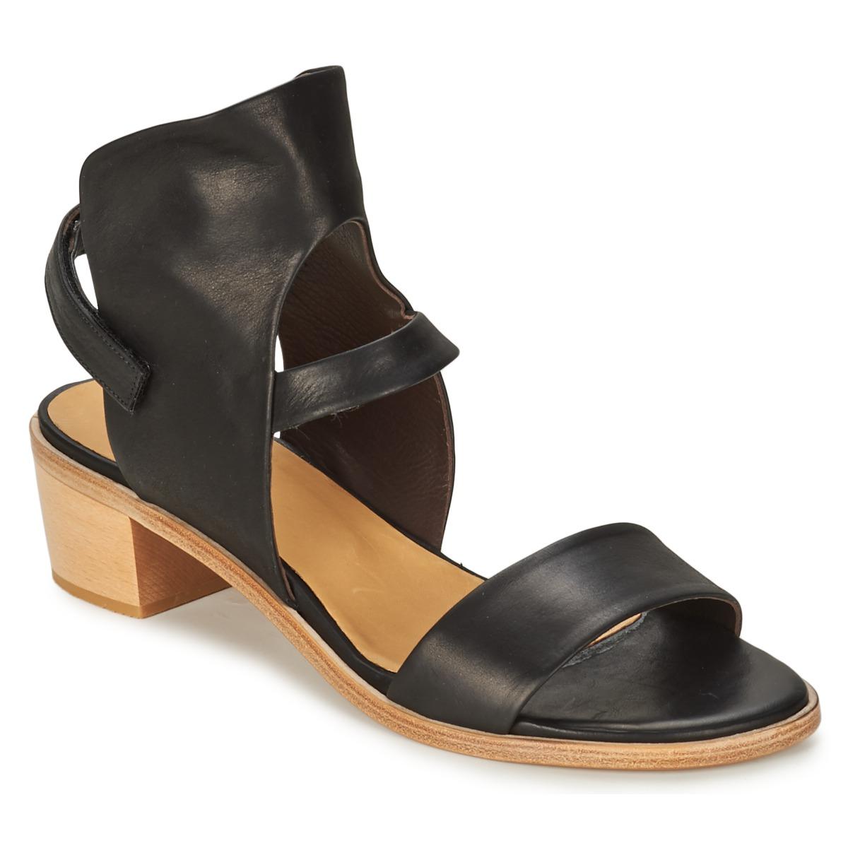 Coclico TYRION Noir - Livraison Gratuite avec  - Chaussures Sandale Femme
