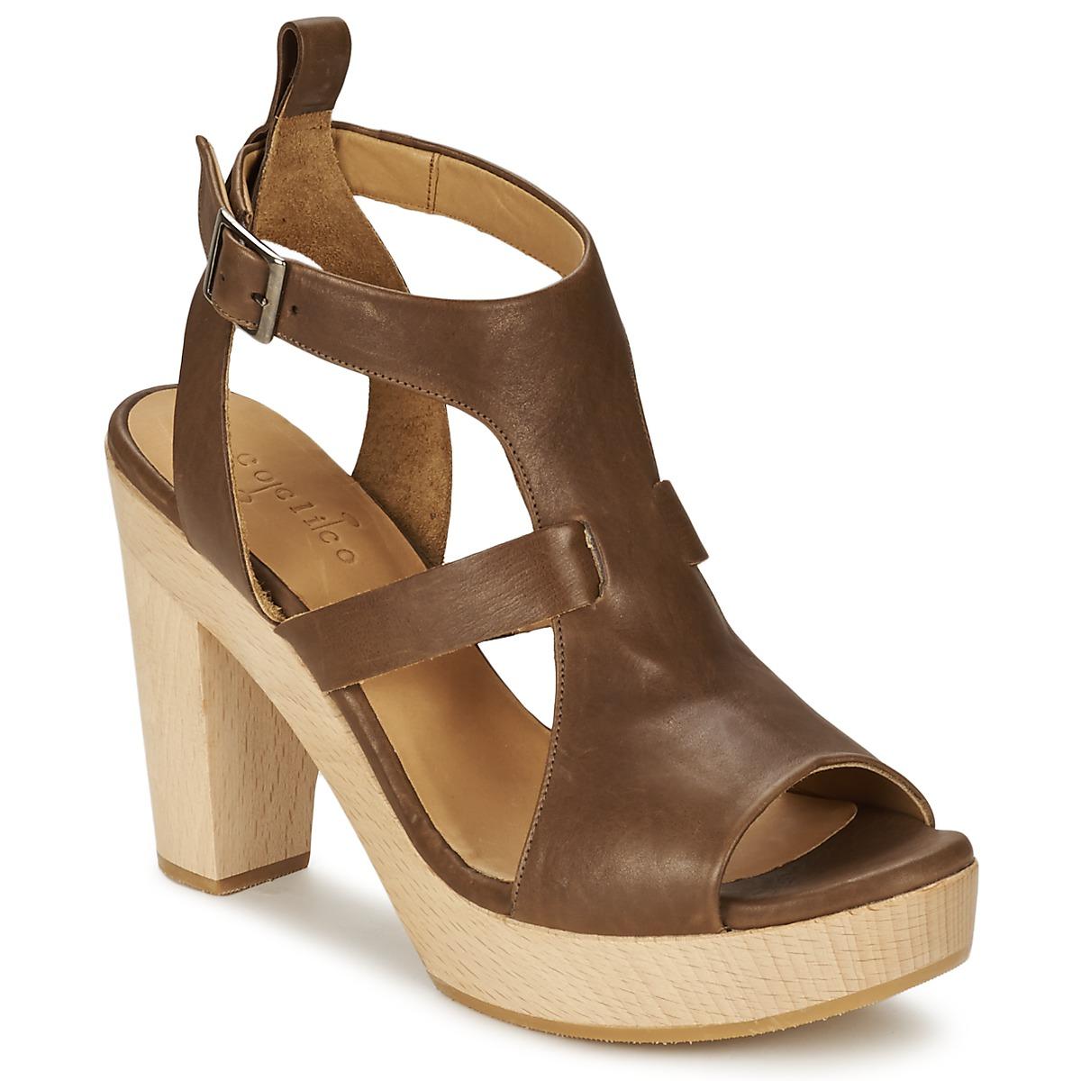 Sandale Coclico SHAE Marron