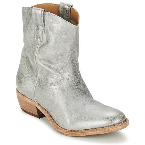 Chaussures Femme Boots Catarina Martins LIBERO Argent