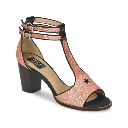 Sandale C.Petula JAIMIE Or Rosé 350x350