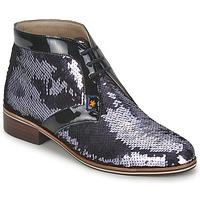Chaussures Femme Boots C.Petula PEGASE Argent