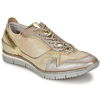 Chaussures Femme Baskets basses Manas  Doré
