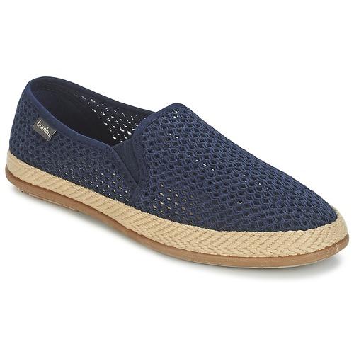 Chaussures Homme Espadrilles Bamba By Victoria COPETE ELASTICO REJILLA TRENZA Marine