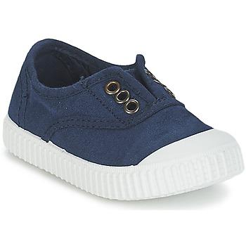 Chaussures Enfant Baskets basses Victoria INGLESA LONA TINTADA Marine
