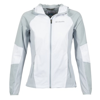 Vêtements Femme Blousons Columbia SWEET AS SOFTSHELL Blanc / Gris