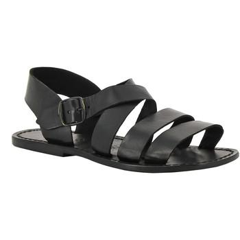 Chaussures Femme Sandales et Nu-pieds Gianluca - L'artigiano Del Cuoio 508 U NERO CUOIO nero