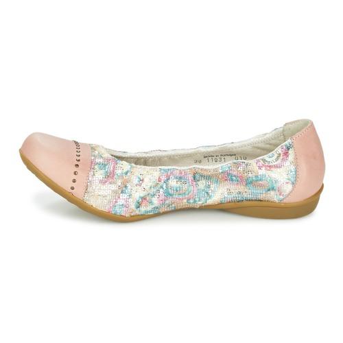 Dkode Chaussures Qxrsdcht Faris Femme Rose Ballerinesbabies nkw8OP0