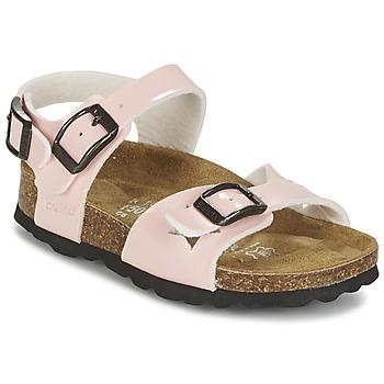 Chaussures Fille Sandales et Nu-pieds Betula Original Betula Fussbett JEAN Rose