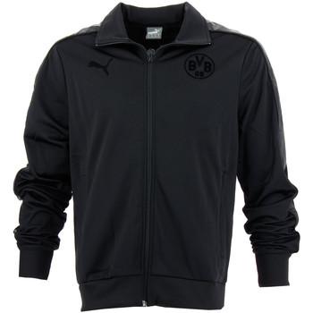 Vêtements Homme Vestes de survêtement Puma Veste de football  Borussia Dortmund - Ref. 744883-02 Noir