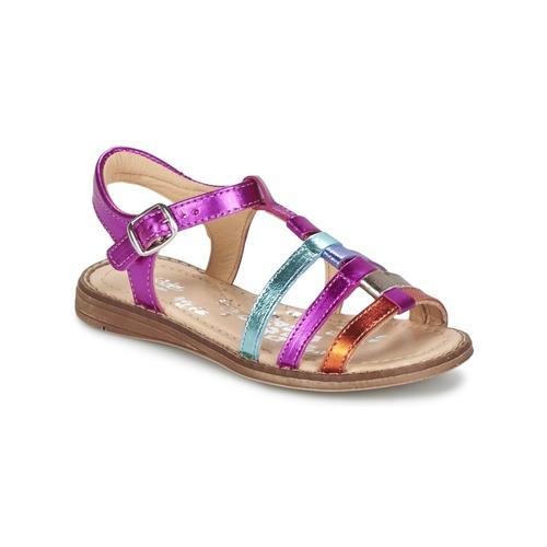 Chaussures Fille Sandales et Nu-pieds Babybotte KIRI2 Multicolore