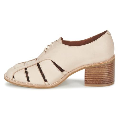 Jeffrey Campbell Chaussures Derbies Femme Alonzo Beige 3R5AjL4