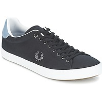 Chaussures Homme Baskets basses Fred Perry HOWELLS TWILL Noir / Gris