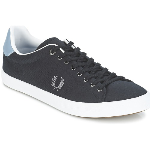 Baskets mode Fred Perry HOWELLS TWILL Noir / Gris 350x350
