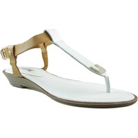 Chaussures Femme Sandales et Nu-pieds MTNG MUSTANG VACHE BLANC