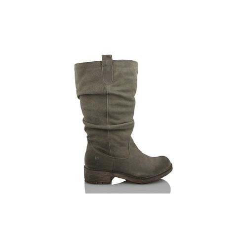 Chaussures Femme Boots MTNG Les femmes MUSTANG divisés GRIS