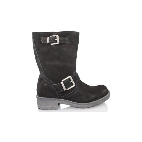 Chaussures Femme Boots MTNG Mme BJ butin MUSTANG NOIR
