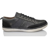 Chaussures Homme Baskets basses MTNG MUSTANG hommes de chaussures BLACK