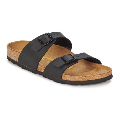 Chaussures Femme Sandales et Nu-pieds Birkenstock SYDNEY Noir Mat