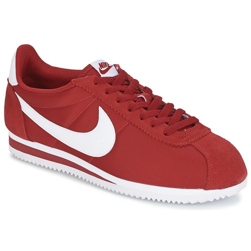 Baskets mode Nike CLASSIC CORTEZ NYLON Rouge 350x350