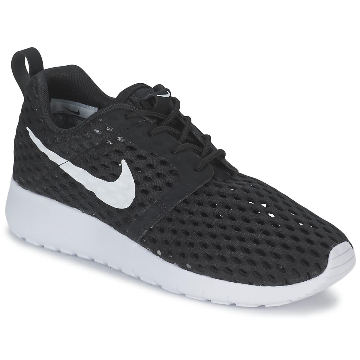 Nike ROSHE ONE FLIGHT WEIGHT BREATHE JUNIOR Noir