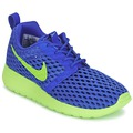 Chaussures Garçon Baskets basses Nike ROSHE ONE FLIGHT WEIGHT BREATHE JUNIOR Bleu / Vert