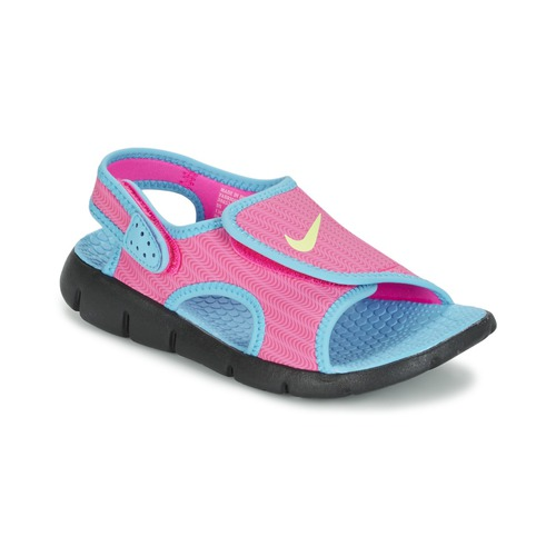 Sandale Nike SUNRAY ADJUST 4 Rose / Bleu 350x350