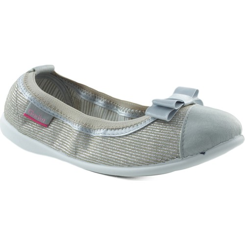Chaussures Fille Ballerines / babies Gorila CANVAS JUNCAL+ BEIGE