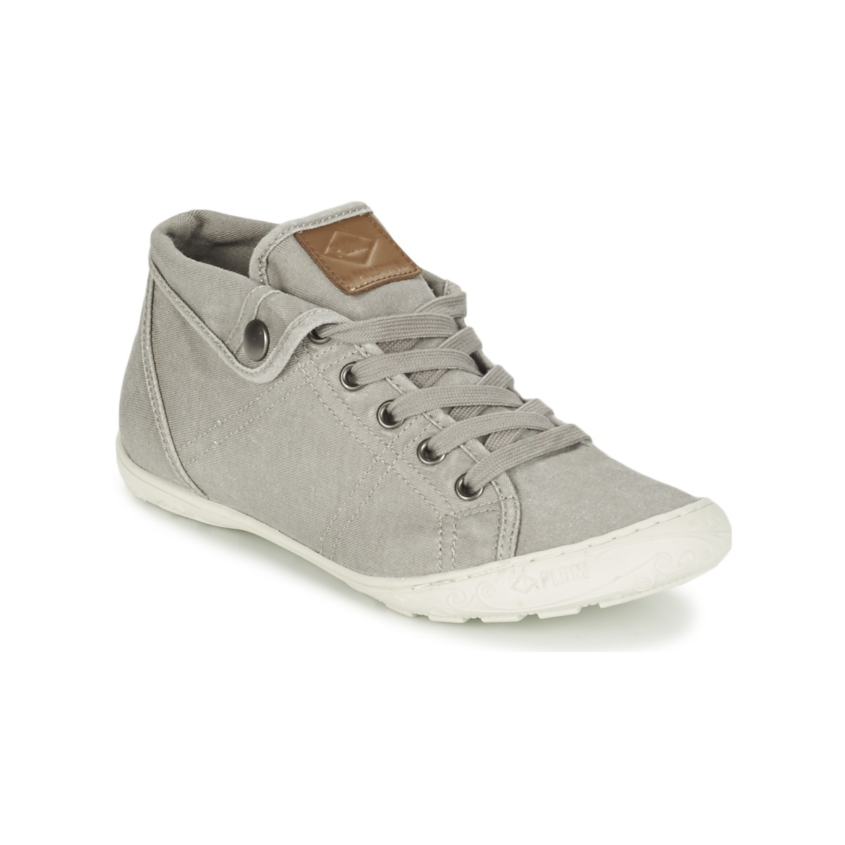 Luxe Marques Soldes FAME - Baskets montantes - dream white