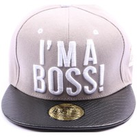 Casquettes Jbb Couture Snapback  Grise I'M A BOSS