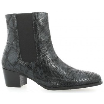Exit Marque Bottines  Boots Cuir Python