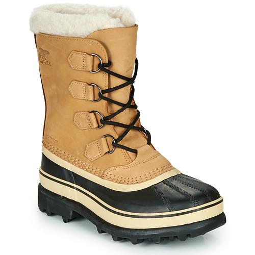 sorel caribou marron noir livraison gratuite avec chaussures bottes de neige. Black Bedroom Furniture Sets. Home Design Ideas